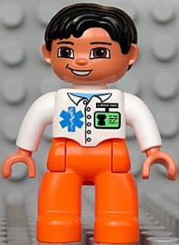 Duplo ziekenhuis - ambulance broeder