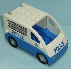 Lego Duplo politie auto 2 los
