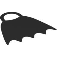 Duplo cape - batman