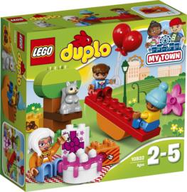 LEGO DUPLO Verjaardagspicknick - 10832 met doos