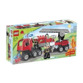 Lego Duplo brandweerwagen 4977