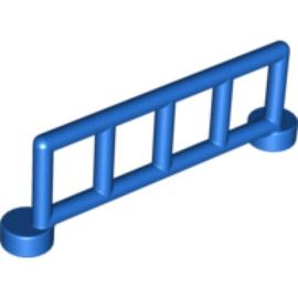 Duplo hekje blauw met 5 staanders