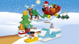 LEGO DUPLO Wintervakantie van de Kerstman - 10837 - nieuw