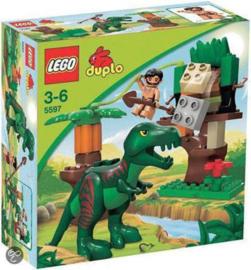 Duplo grote T-rex Dino 5597 met doos