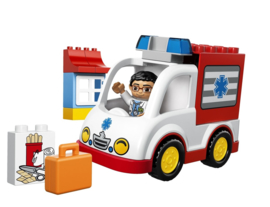 Lego Duplo ziekenhuis ambulance 10527