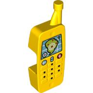Duplo Mobiele telefoon geel met kaart