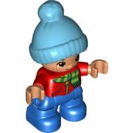 Duplo poppetje Lego Ville, kind, jongetje