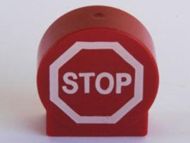 Duplo blokje Stop bord