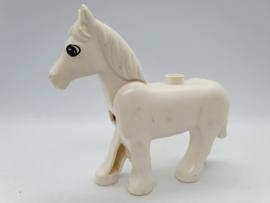 Duplo paard wit