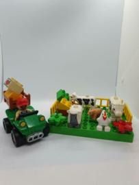 Mini Duplo boerderij met quad