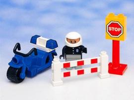 Lego Duplo politie motor patrouille 2673