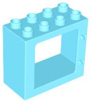 Raam frame medium azure nieuw