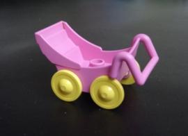 Kinderwagen roze