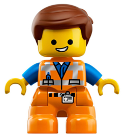 Duplo poppetje Emmet van de Lego Movie 2