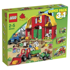 Lego set 66454 Duplo Superpack boerderij