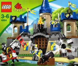 Duplo ridderkasteel 4864 bescherm het kasteel