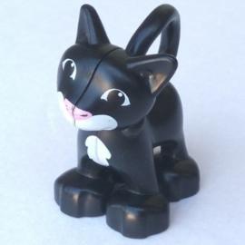 Duplo poes - kat  zwart