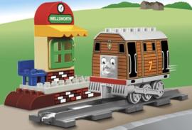 DUPLO Ville 5555 Thomas de trein - Toby op Wellsworth