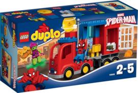 LEGO DUPLO Marvel Spider-Man Spider Truck Avontuur - 10608 met doos