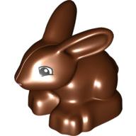 Lego Duplo boerderij dieren konijn bruin
