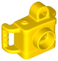 Duplo foto camera geel