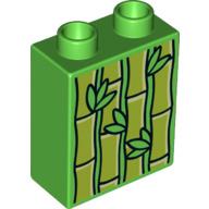 Lego Duplo dierentuin dieren blokje bamboo planten