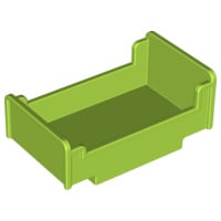 Duplo bed Lime