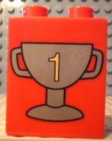 Duplo trofee blokje nummer 1