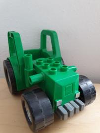 Duplo tractor groen los (4687 )