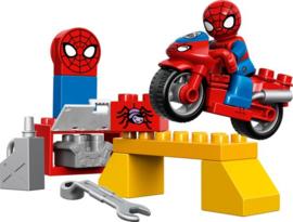 Duplo Spider man motor werkplaats 10607
