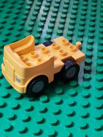 Lego Duplo wagen geel