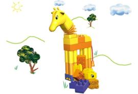 Lego Duplo peuter - grappige giraffe 3512