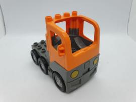 Lego Duplo vrachtauto oranje