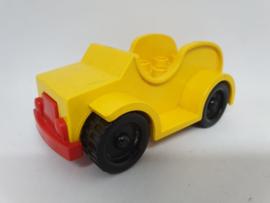 Duplo auto geel 2