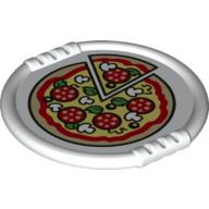 Pizza op bord nieuw