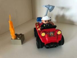 Lego Duplo brandweer commandant 5603