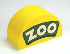 Lego Duplo dierentuin ingang logo - zoo