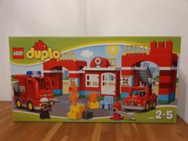 Lego Duplo brandweerkazerne 10593 in doos