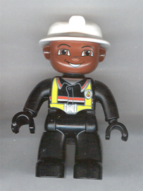 Lego Duplo brandweer poppetje 1