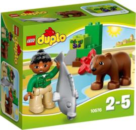Lego Duplo dierenverzorger beer en vis 10576 met doos