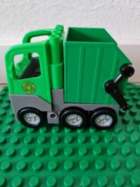 Lego Duplo vuilniswagen groen los ( 4659)