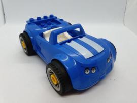 Lego Duplo auto toolo blauw