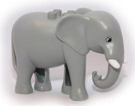 Lego Duplo dierentuin dieren olifant Volwassen met slagtand