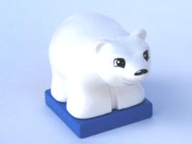 Duplo ijsbeer baby ouder model