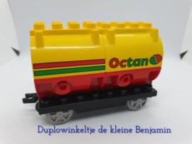 Duplo trein wagon Octan tanks