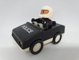 Duplo Politie auto zwart