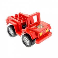 Lego Duplo brandweer snelle quad bike los