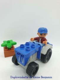 Lego Duplo tractor 4969