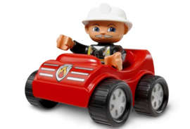 Lego Duplo brandweer auto 4692