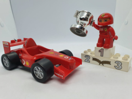 Duplo Formula one raceauto Ferrari 4693